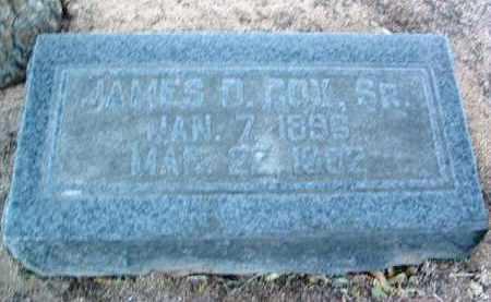 COX, JAMES D. - Yavapai County, Arizona | JAMES D. COX - Arizona Gravestone Photos