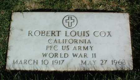 COX, ROBERT LOUIS - Yavapai County, Arizona | ROBERT LOUIS COX - Arizona Gravestone Photos