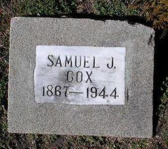 COX, SAMUEL J. - Yavapai County, Arizona | SAMUEL J. COX - Arizona Gravestone Photos