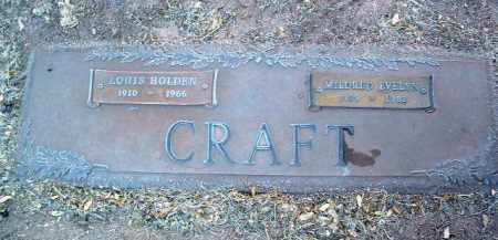 CRAFT, LOUIS HOLDEN - Yavapai County, Arizona   LOUIS HOLDEN CRAFT - Arizona Gravestone Photos
