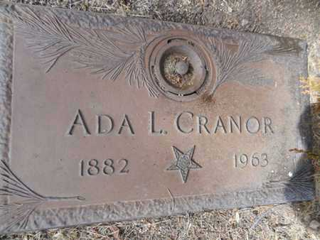 CRANOR, ADA FERN - Yavapai County, Arizona   ADA FERN CRANOR - Arizona Gravestone Photos