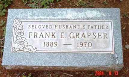 CRAPSER, FRANK EARHART - Yavapai County, Arizona | FRANK EARHART CRAPSER - Arizona Gravestone Photos