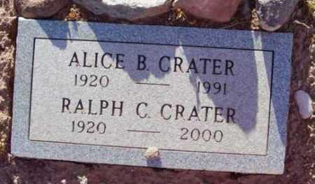 CRATER, ALICE BETH - Yavapai County, Arizona   ALICE BETH CRATER - Arizona Gravestone Photos