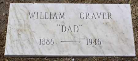 CRAVER, WILLIAM MATTISON - Yavapai County, Arizona   WILLIAM MATTISON CRAVER - Arizona Gravestone Photos