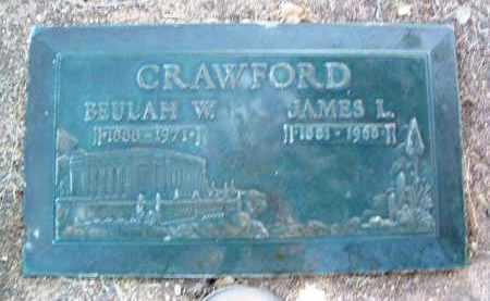 CRAWFORD, BEULAH W. - Yavapai County, Arizona   BEULAH W. CRAWFORD - Arizona Gravestone Photos