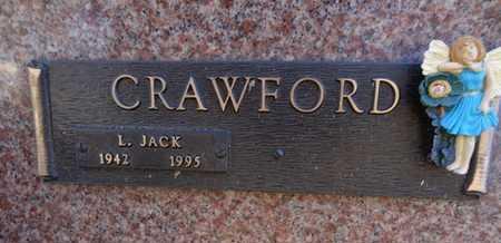CRAWFORD, LARRY JACK - Yavapai County, Arizona | LARRY JACK CRAWFORD - Arizona Gravestone Photos