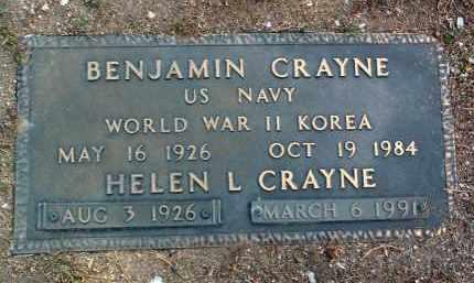 CRAYNE, HELEN LOUISE - Yavapai County, Arizona | HELEN LOUISE CRAYNE - Arizona Gravestone Photos
