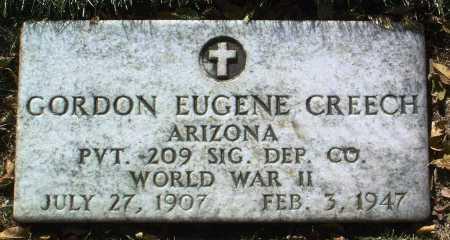 CREECH, GORDON EUGENE - Yavapai County, Arizona | GORDON EUGENE CREECH - Arizona Gravestone Photos