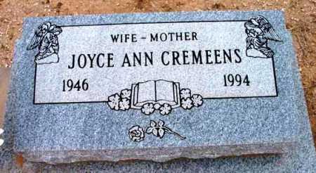 CREMEENS, JOYCE ANN - Yavapai County, Arizona | JOYCE ANN CREMEENS - Arizona Gravestone Photos