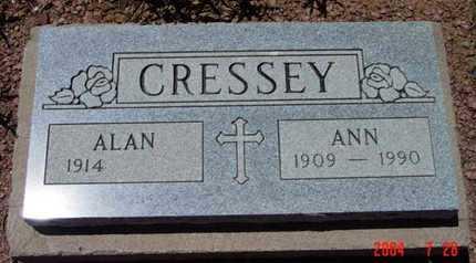 CUNNINGHAM CRESSEY, A. - Yavapai County, Arizona | A. CUNNINGHAM CRESSEY - Arizona Gravestone Photos