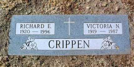 CRIPPEN, VICTORIA N. - Yavapai County, Arizona | VICTORIA N. CRIPPEN - Arizona Gravestone Photos