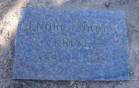 CRISP, LENORE FORBING - Yavapai County, Arizona | LENORE FORBING CRISP - Arizona Gravestone Photos