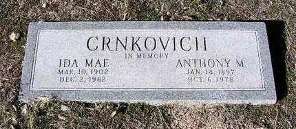 CRNKOVICH, ANTHONY M. - Yavapai County, Arizona | ANTHONY M. CRNKOVICH - Arizona Gravestone Photos