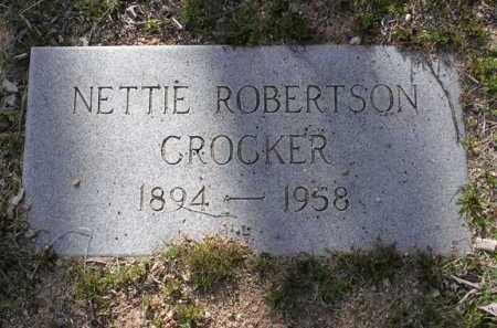 CROCKER, NETTIE - Yavapai County, Arizona | NETTIE CROCKER - Arizona Gravestone Photos