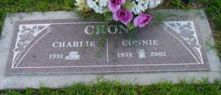 CRON, CHARLES L. (CHARLIE) - Yavapai County, Arizona   CHARLES L. (CHARLIE) CRON - Arizona Gravestone Photos