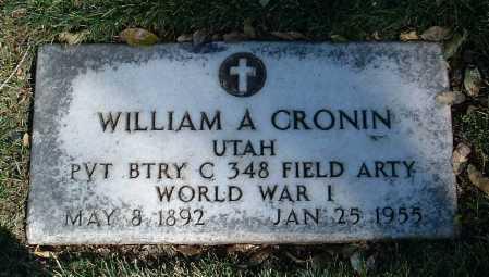CRONIN, WILLIAM ALBERT - Yavapai County, Arizona | WILLIAM ALBERT CRONIN - Arizona Gravestone Photos