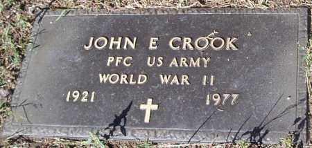 CROOK, JOHN E. - Yavapai County, Arizona   JOHN E. CROOK - Arizona Gravestone Photos