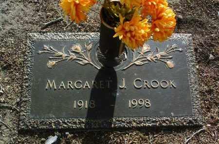 CROOK, MARGARET J. - Yavapai County, Arizona | MARGARET J. CROOK - Arizona Gravestone Photos