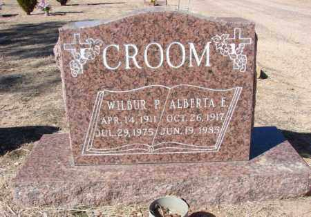 CROOM, WILBUR PAUL - Yavapai County, Arizona | WILBUR PAUL CROOM - Arizona Gravestone Photos