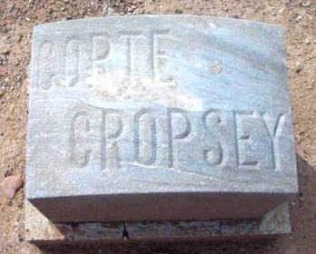 CROPSEY, CORTE H. - Yavapai County, Arizona   CORTE H. CROPSEY - Arizona Gravestone Photos