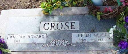 CROSE, HELEN MERLE - Yavapai County, Arizona | HELEN MERLE CROSE - Arizona Gravestone Photos