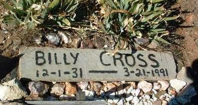 CROSS, WILLIAM (BILLY) - Yavapai County, Arizona   WILLIAM (BILLY) CROSS - Arizona Gravestone Photos