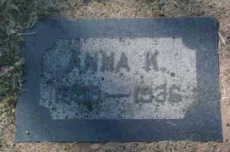 CROSSMAN, ANNA K. - Yavapai County, Arizona | ANNA K. CROSSMAN - Arizona Gravestone Photos