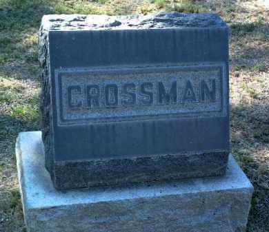 CROSSMAN, FAMILY STONE - Yavapai County, Arizona | FAMILY STONE CROSSMAN - Arizona Gravestone Photos