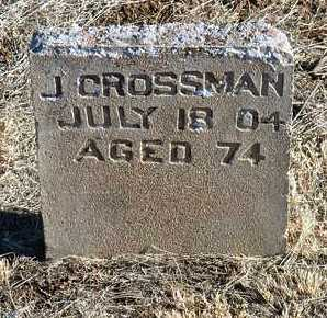 CROSSMAN, JAMES - Yavapai County, Arizona | JAMES CROSSMAN - Arizona Gravestone Photos