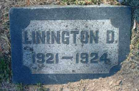 CROSSMAN, LININGTON D. - Yavapai County, Arizona | LININGTON D. CROSSMAN - Arizona Gravestone Photos