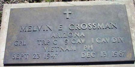 CROSSMAN, MELVIN EUGENE - Yavapai County, Arizona | MELVIN EUGENE CROSSMAN - Arizona Gravestone Photos