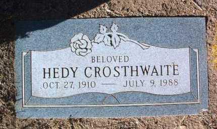 CROSTHWAITE, HELWIG L. (HEDY) - Yavapai County, Arizona | HELWIG L. (HEDY) CROSTHWAITE - Arizona Gravestone Photos