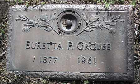 CROUSE, EURETTA P. (RETA) - Yavapai County, Arizona | EURETTA P. (RETA) CROUSE - Arizona Gravestone Photos