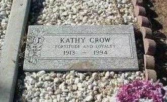 CROW, KATHY - Yavapai County, Arizona | KATHY CROW - Arizona Gravestone Photos