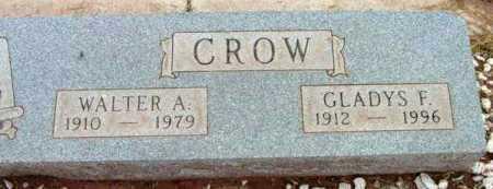 CROW, GLADYS F. - Yavapai County, Arizona   GLADYS F. CROW - Arizona Gravestone Photos
