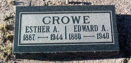 CROWE, ESTHER A. - Yavapai County, Arizona | ESTHER A. CROWE - Arizona Gravestone Photos