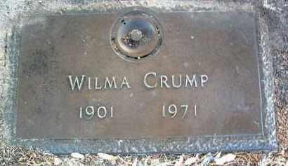 CRUMP, WILMA IRENE (DAISY) - Yavapai County, Arizona | WILMA IRENE (DAISY) CRUMP - Arizona Gravestone Photos