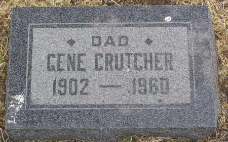 CRUTCHER, ALVIN EUGENE (GENE) - Yavapai County, Arizona | ALVIN EUGENE (GENE) CRUTCHER - Arizona Gravestone Photos