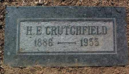 CRUTCHFIELD, HENRY ERNEST - Yavapai County, Arizona | HENRY ERNEST CRUTCHFIELD - Arizona Gravestone Photos