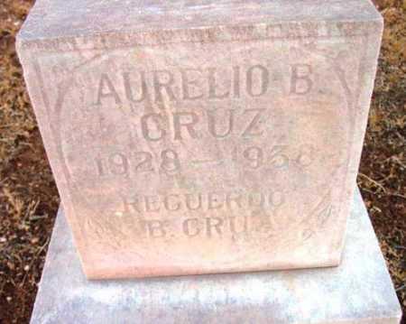 CRUZ, AURELIO B. - Yavapai County, Arizona   AURELIO B. CRUZ - Arizona Gravestone Photos