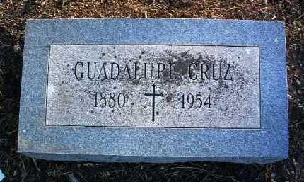 CRUZ, GUADALUPE S. - Yavapai County, Arizona | GUADALUPE S. CRUZ - Arizona Gravestone Photos