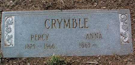 CRYMBLE, PERCY - Yavapai County, Arizona | PERCY CRYMBLE - Arizona Gravestone Photos