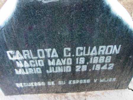 CUEVAS CUARON, CARLOTA C. - Yavapai County, Arizona | CARLOTA C. CUEVAS CUARON - Arizona Gravestone Photos