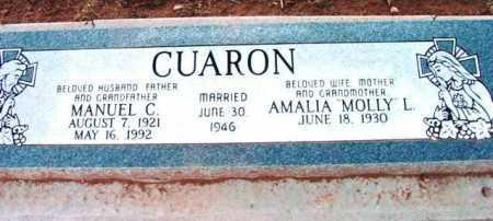 CUARON, MANUEL CUEVAS, JR. - Yavapai County, Arizona | MANUEL CUEVAS, JR. CUARON - Arizona Gravestone Photos