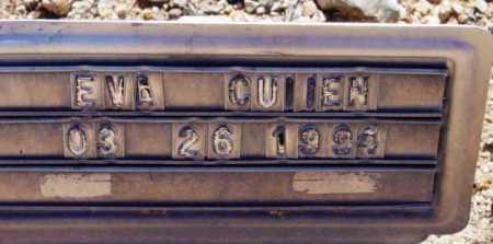 CULLEN, EVA - Yavapai County, Arizona | EVA CULLEN - Arizona Gravestone Photos