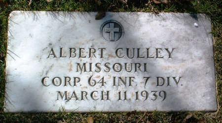 CULLEY, ALBERT - Yavapai County, Arizona   ALBERT CULLEY - Arizona Gravestone Photos
