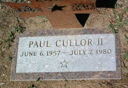 CULLOR, PAUL L. - Yavapai County, Arizona | PAUL L. CULLOR - Arizona Gravestone Photos