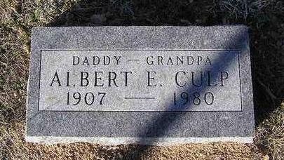 CULP, ALBERT EUGENE - Yavapai County, Arizona | ALBERT EUGENE CULP - Arizona Gravestone Photos