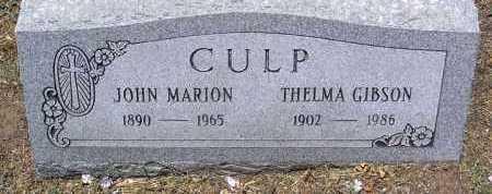 GIBSON CULP, THELMA - Yavapai County, Arizona | THELMA GIBSON CULP - Arizona Gravestone Photos