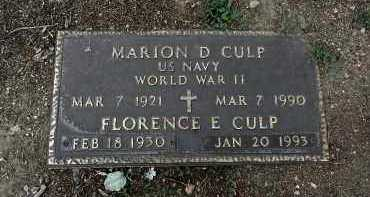 CULP, MARION DEE - Yavapai County, Arizona | MARION DEE CULP - Arizona Gravestone Photos
